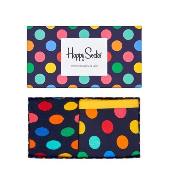 Combo box damski Happy Socks Hipster XBDO62-6000