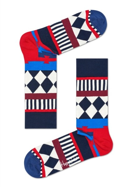 Giftbox (10-pak) 10th Anniversary Happy Socks XTEN17-9000