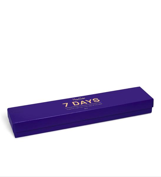 Giftbox (7-pak) skarpetki Happy Socks 7 Days XSNI08-6001