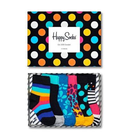 Giftbox dziecięcy Happy Socks XKBLE10-7000