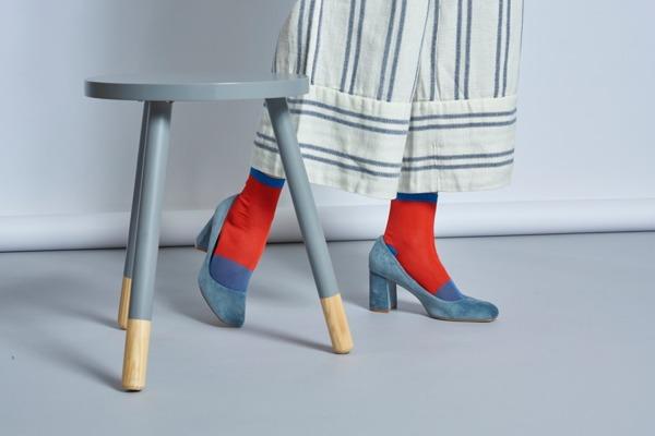 Skarpetki HYSTERIA Liza Sparkle Ankle Sock (SISLIZ12-4000)