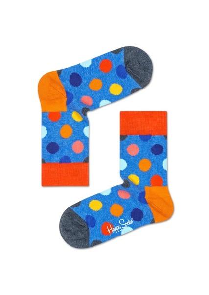 Zestaw skarpetka dziecięca + dorosła 2-pak Happy Socks XPEA02-6001